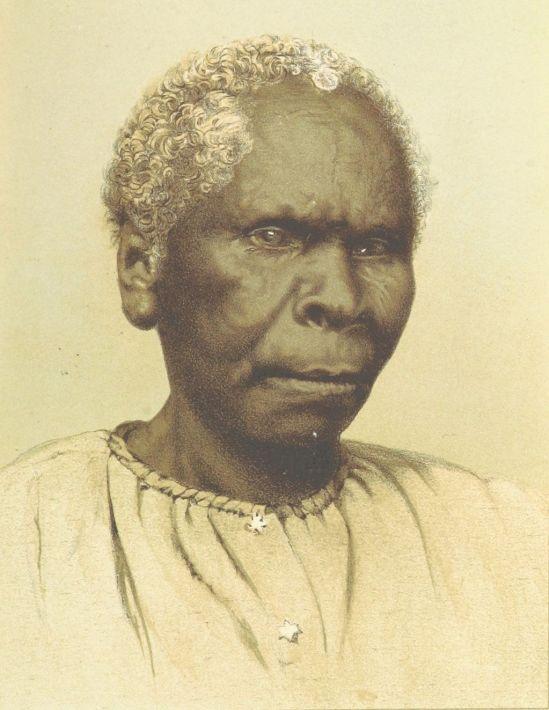 B(1871) p187 TASMANIA, THE LAST OF THE ABORIGINALS (LADY)