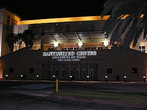 The BankUnited Center on the University of Mia...