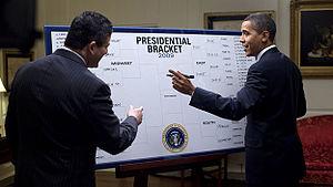 U.S. President Barack Obama picks his winners ...