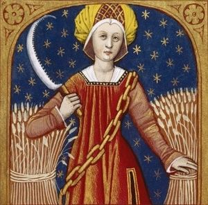 English: Ceres, goddess of agriculture, grain ...
