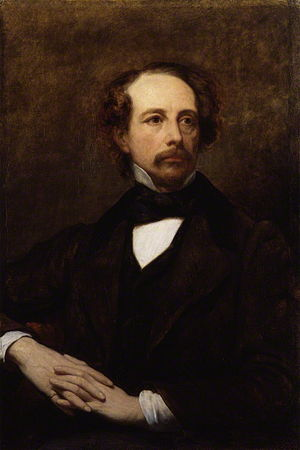 "English: ""Charles Dickens,"" oil on c..."