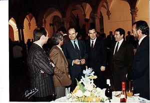 Español: El presidente de la Junta de Andalucí...