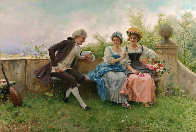 Federico Andreotti - The young suitor