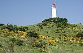 Dornbusch Lighthouse on Hiddensee Island
