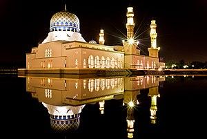 English: Kota Kinabalu City Mosque at Sabah, M...