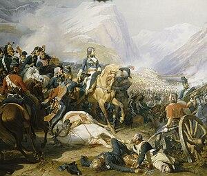 Napoleon at the Battle of Rivoli (January 14, ...