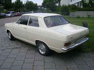 English: Opel Kadett B Automatic Deutsch: Opel...