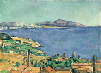 Paul Cézanne, Golfe de Marseille vu de l'Estaque, 1885