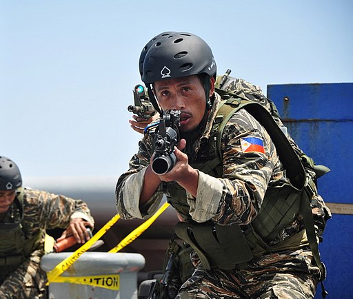 Philippine Navy Special Forces soldier