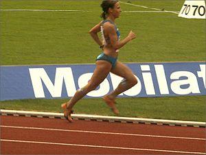 German runner Sabrina Mockenhaupt was one of t...