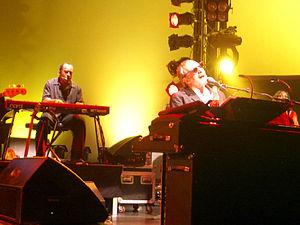 Steely Dan in concert in Luzerne, Switzerland,...