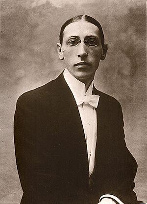 English: russian Composer Igor Stravinsky Русс...