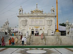 Takht Sri Hazur Sahib, Nanded, built over the ...