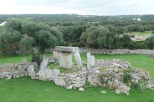 Talatí de Dalt archaeological site, Minorca, Spain
