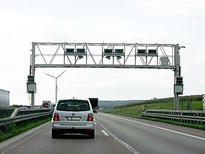 Toll Collect Portique A65