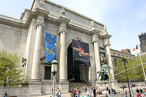 Frontview of American Museum of Natural History