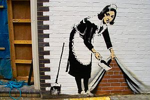 Work by Banksy