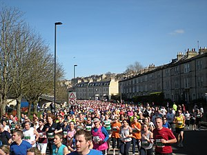 The 2009 Bath Half Marathon.