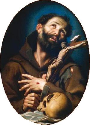 Bernardo Strozzi - São Francisco de Assis