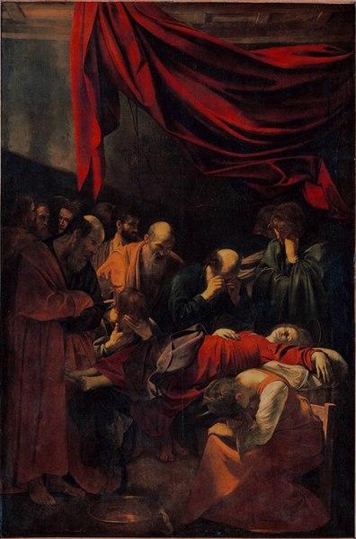 File:Caravaggio - La Morte della Vergine.jpg