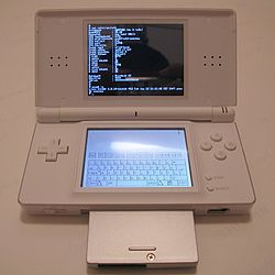 DSLinux en una DS Lite