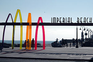 English: Imperial Beach, California The symbol...