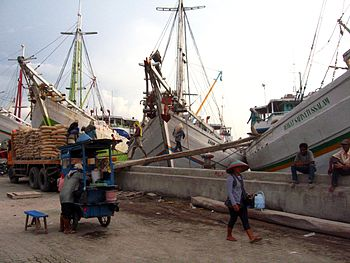 Port of Sunda Kelapa, Jakarta, Indonesia