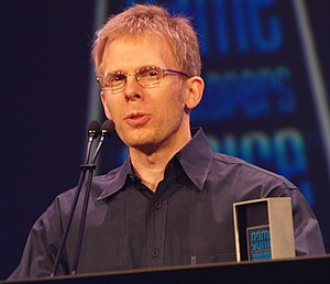 English: John Carmack at the Game Developers C...