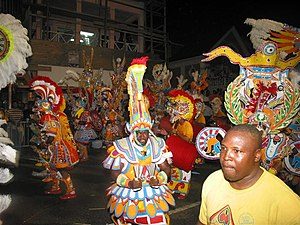 Junkanoo celebration in Nassau