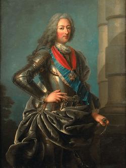 Le duc d'Orléans par Charles Antoine Coypel.