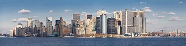 A panorama of Lower Manhattan as viewed from the Staten Island Ferry. [Image: commons.wikimedia.org]