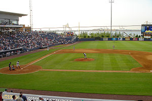 English: Richmond County Bank Ballpark, home o...