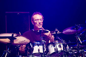 Drummer with Jeff Beck at the Palais, Melbourn...