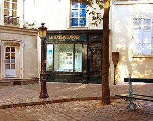Bateau Lavoir in Paris, France