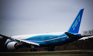 Prior to the first flight of Boeing 787 Dreaml...
