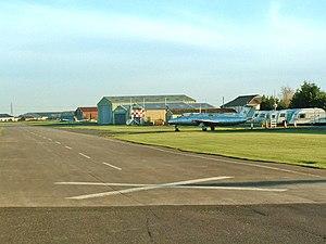 English: Breighton Airfield and Aeroplane Muse...