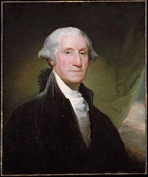Portrait by Gilbert Stuart, 1795