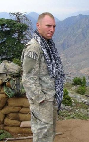 SFC Jared C. Monti in Afghanistan 2006