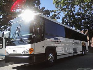 English: MTA Maryland MCI D4500CTH #176C.