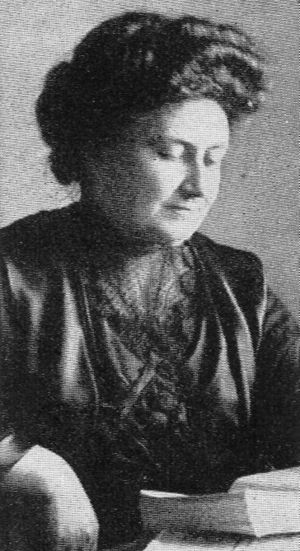 Maria Montessori (Photo credit: Wikipedia)