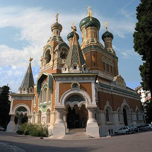 Nice Cathédrale Saint-Nicolas