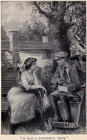 "English: Illustration from ""Pollyanna Gro..."