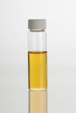 Thyme (Thymus vulgaris) Essential Oil in clear...