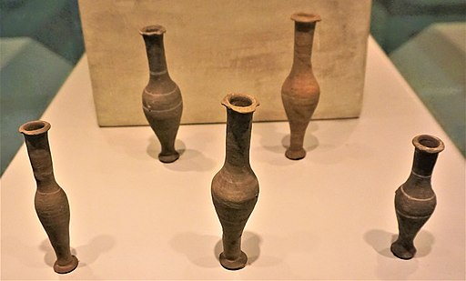 Unguentaria - Perfume Vessels - - Syntagma Metro Station Archaeological Collection by Joy of Museum