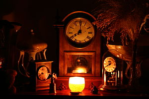 Clocks in Candlelight