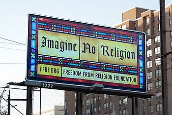 Freedom From Religion Foundation got this sign...