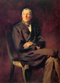 John D. Rockefeller painted in 1917 by John Singer Sargent. From Wikipedia (Commons)