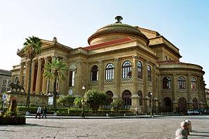 Teatro Massimo opera house.