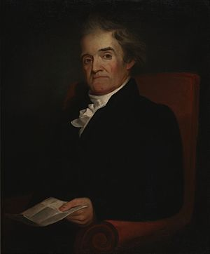"English: ""Noah Webster,"" painted by ..."