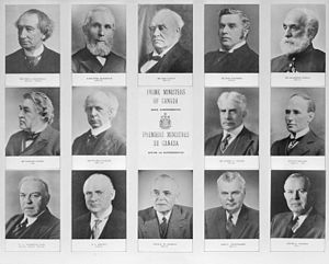 Canada's Prime Ministers from 1867 to 1963